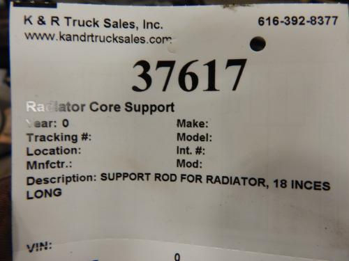 Radiator Core Support