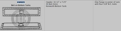 KENWORTH W900 Radiator Core Support
