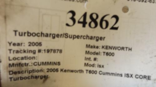 CUMMINS isx Turbocharger / Supercharger
