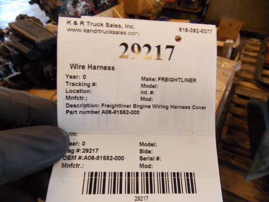 Freightliner Wire Harness Transmission 29217 For Sale At Holland