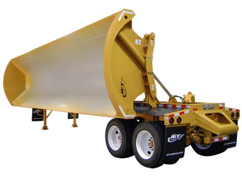 Vander Haags Inc SP Trailer JET 36' SIDE DUMP