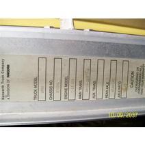 LKQ KC Truck Parts Billings CAB KENWORTH W900