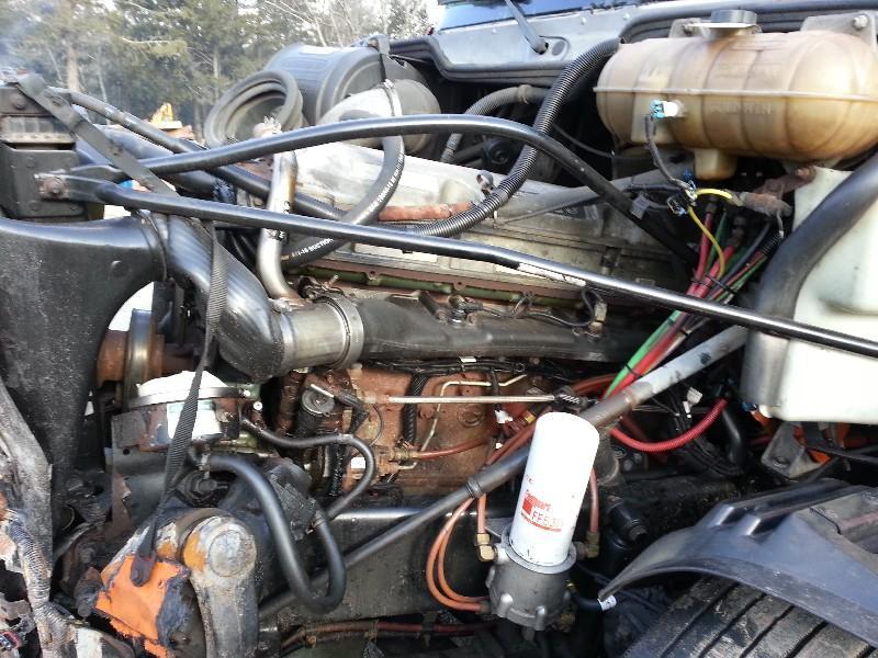 2005 DETROIT 60 SER 12.7 ENGINE ASSEMBLY TRUCK PARTS #585120