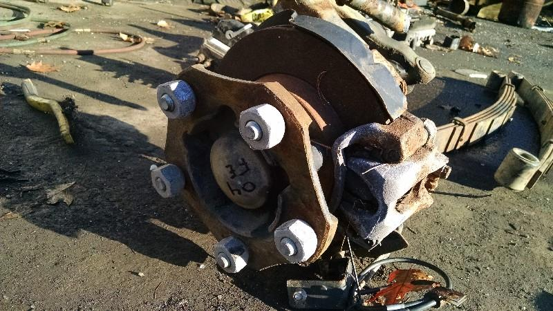 2004 MITSUBISHI FUSO FE SPINDLE-KNUCKLE TRUCK PARTS #587398