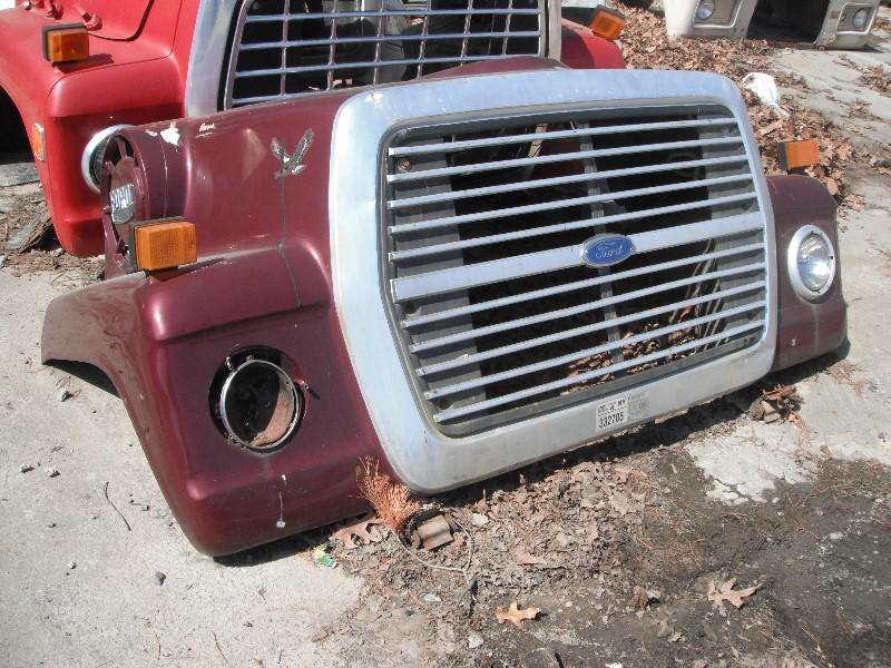 1986 FORD 8000 HOOD TRUCK PARTS #584816