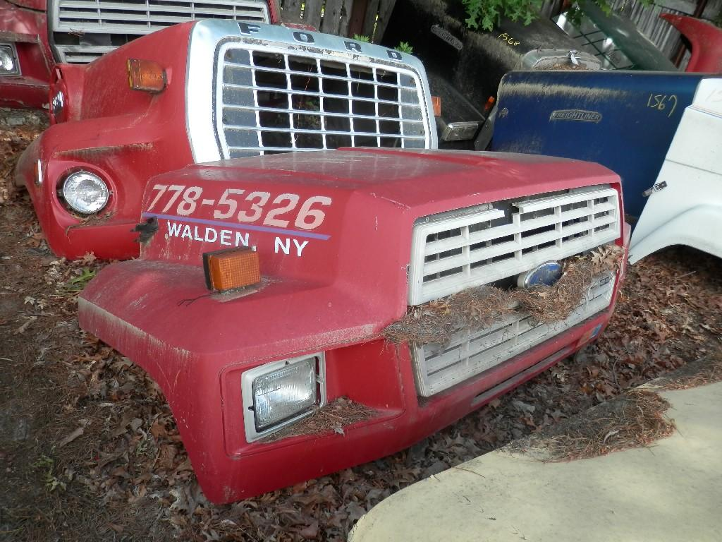 1995 FORD F700 HOOD TRUCK PARTS #584875