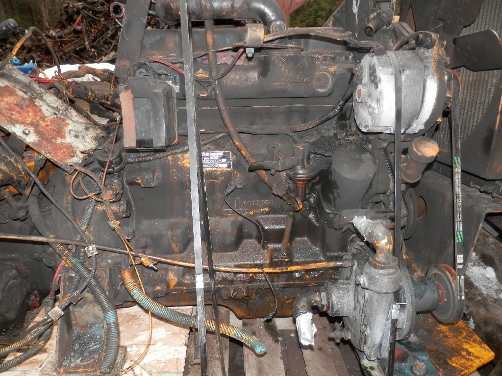 1993 JOHN DEERE 4039T ENGINE ASSEMBLY TRUCK PARTS #585201