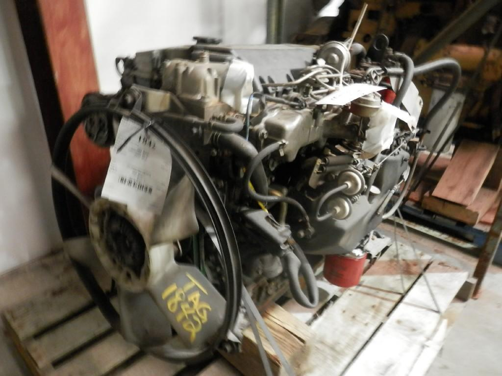 2004 ISUZU 4HE1XS ENGINE ASSEMBLY TRUCK PARTS #585142