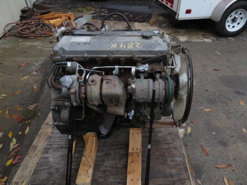 2002 ISUZU 4HE1XS ENGINE ASSEMBLY TRUCK PARTS #585225