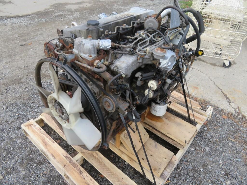 2004 ISUZU 4HE1XS ENGINE ASSEMBLY TRUCK PARTS #585227