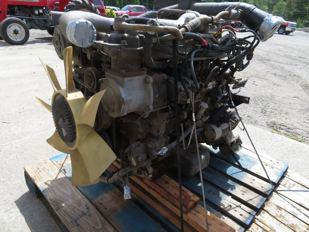 2000 NISSAN FD46TA ENGINE ASSEMBLY TRUCK PARTS #585239