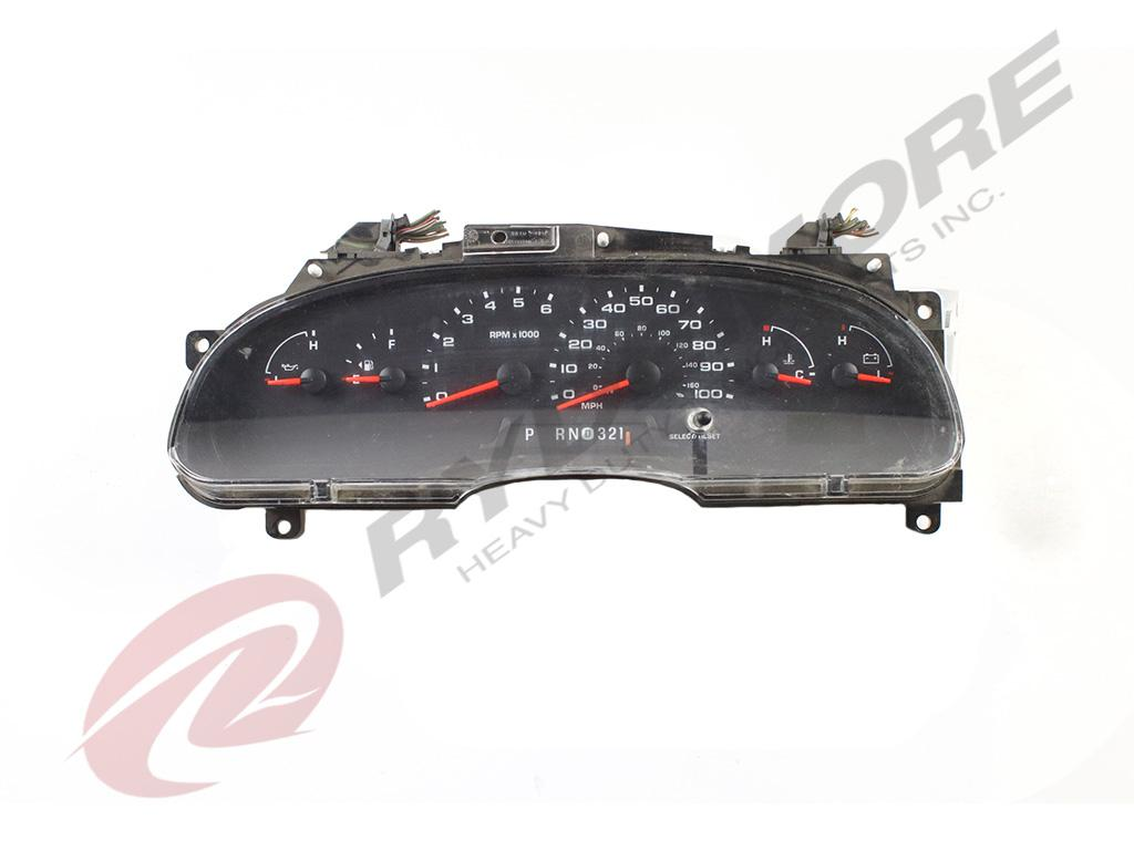 FORD VARIOUS FORD MODELS INSTRUMENT CLUSTER TRUCK PARTS #679493
