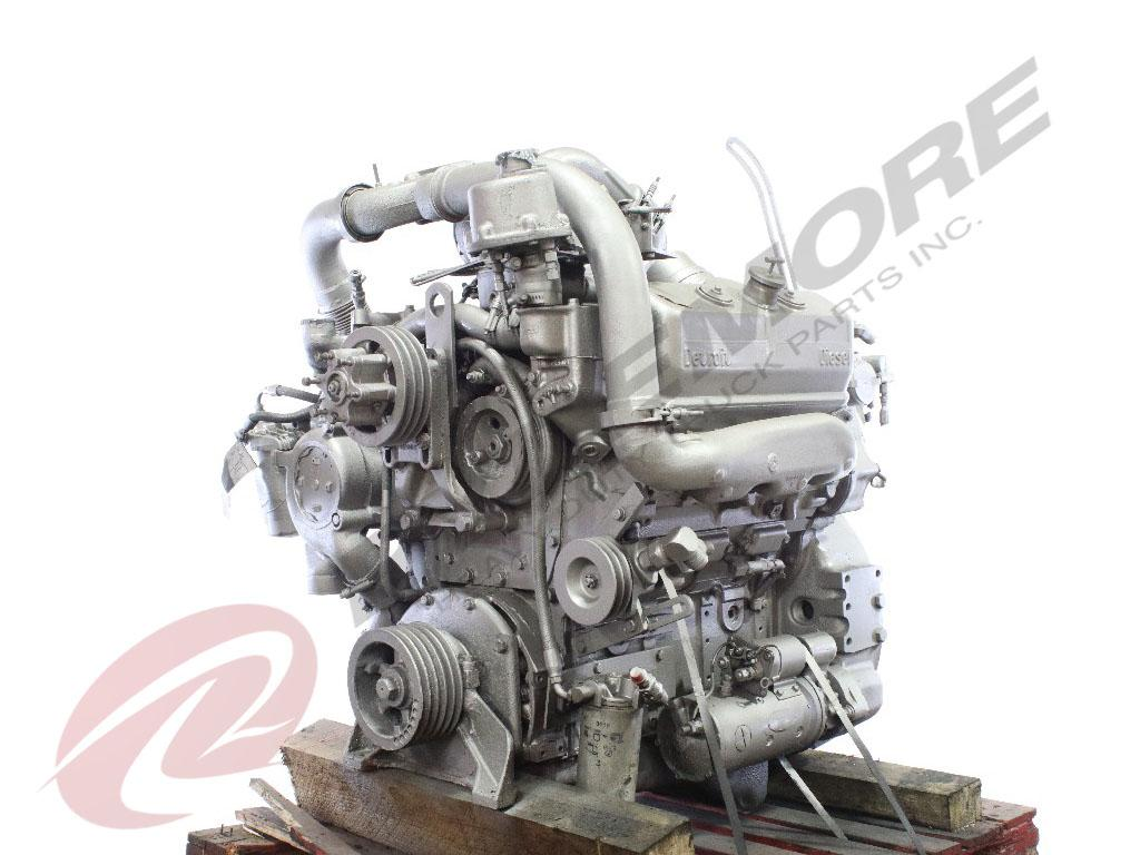1989 DETROIT 6V92T ENGINE ASSEMBLY TRUCK PARTS #615797