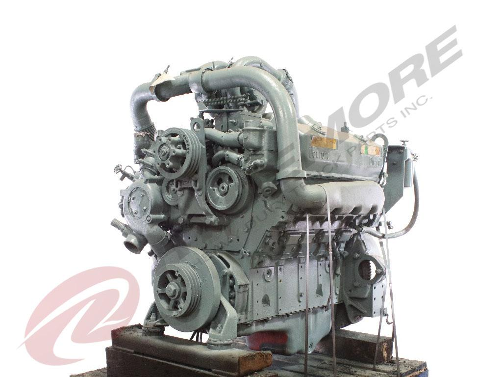DETROIT 8V92TA ENGINE ASSEMBLY TRUCK PARTS #614815