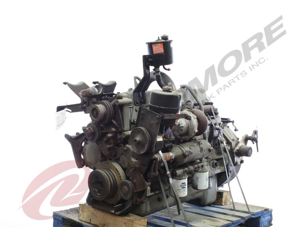 1988 FORD 6.6L ENGINE ASSEMBLY TRUCK PARTS #571156