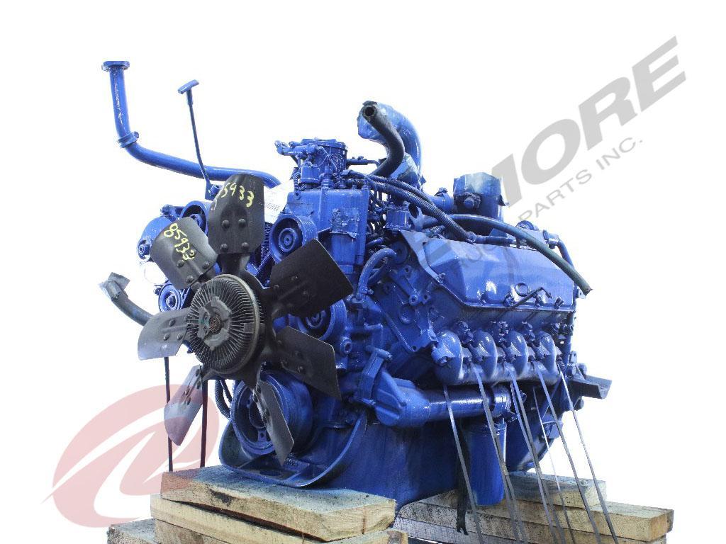 INTERNATIONAL NAVISTAR T444E ENGINE ASSEMBLY TRUCK PARTS #607580