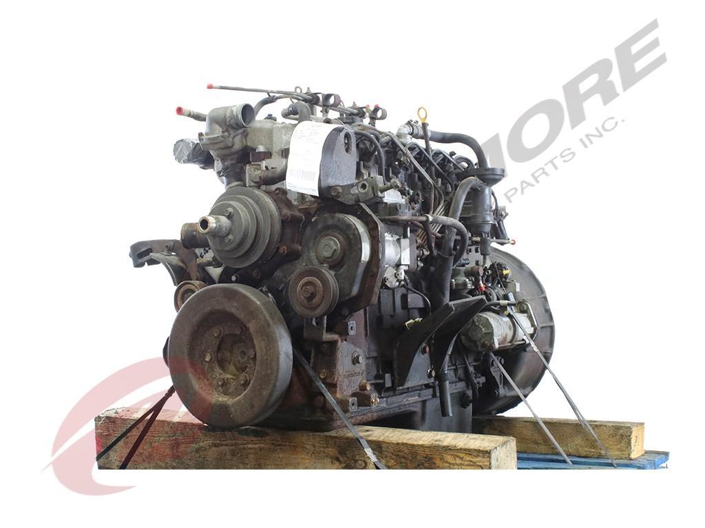 2000 DETROIT 6-38 ENGINE ASSEMBLY TRUCK PARTS #642445
