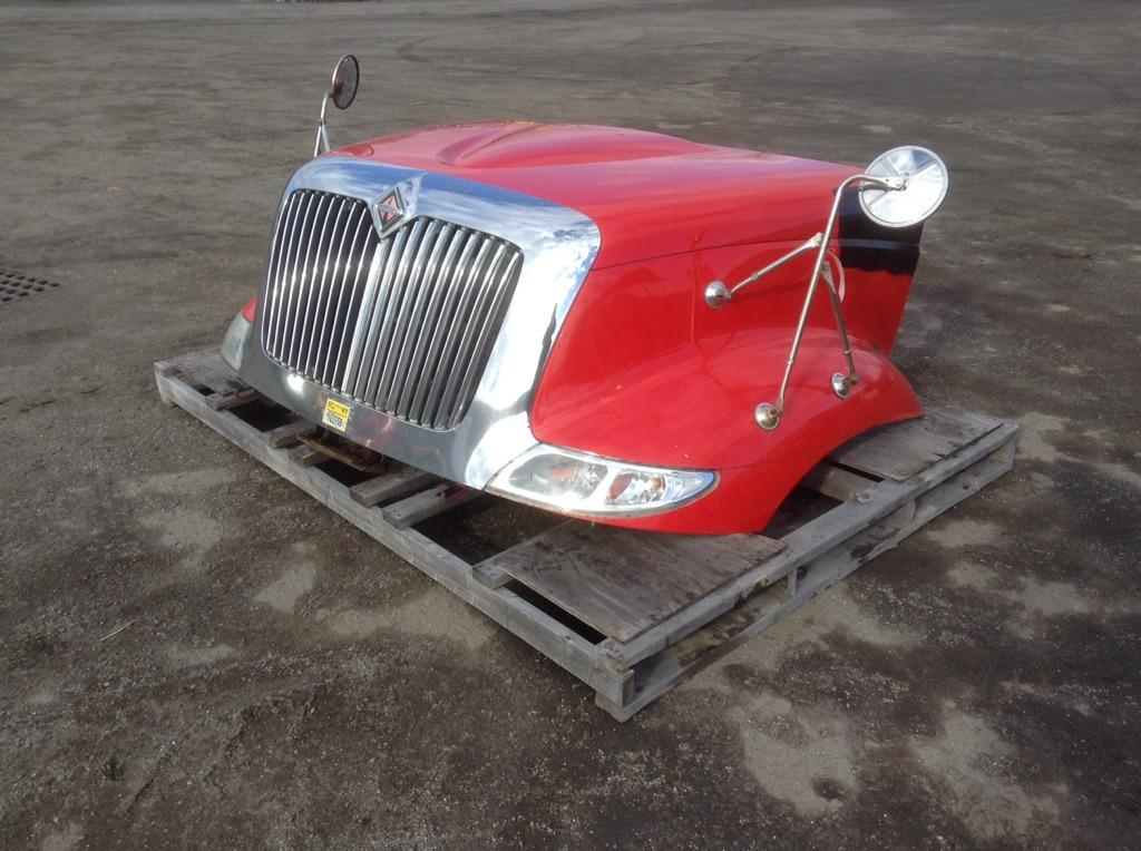 2007 INTERNATIONAL NAVISTAR 8600 HOOD TRUCK PARTS #701080