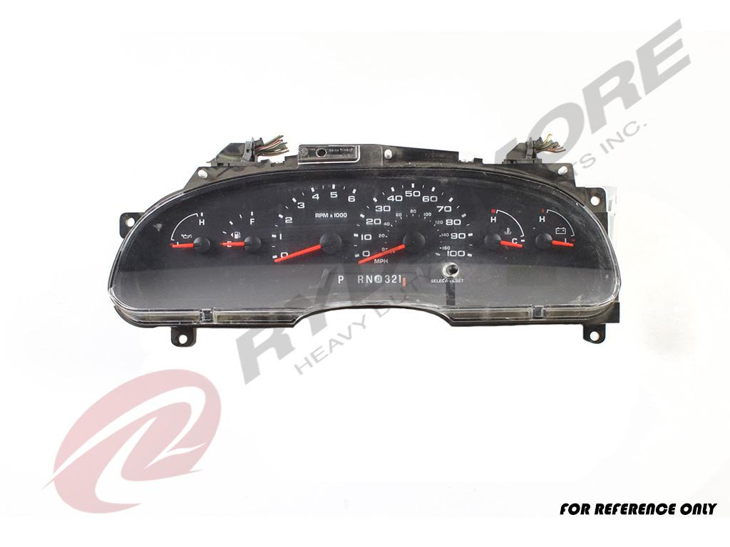FORD VARIOUS FORD MODELS INSTRUMENT CLUSTER TRUCK PARTS #757235
