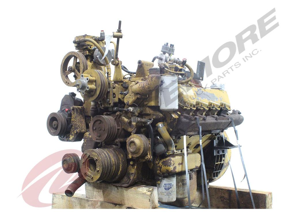1990 CATERPILLAR 3208T ENGINE ASSEMBLY TRUCK PARTS #708131