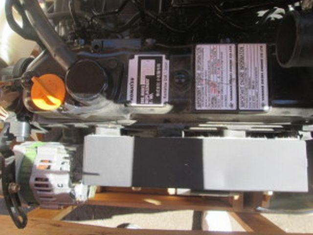 KOMATSU S4D88E-3GD ENGINE ASSEMBLY TRUCK PARTS #485249