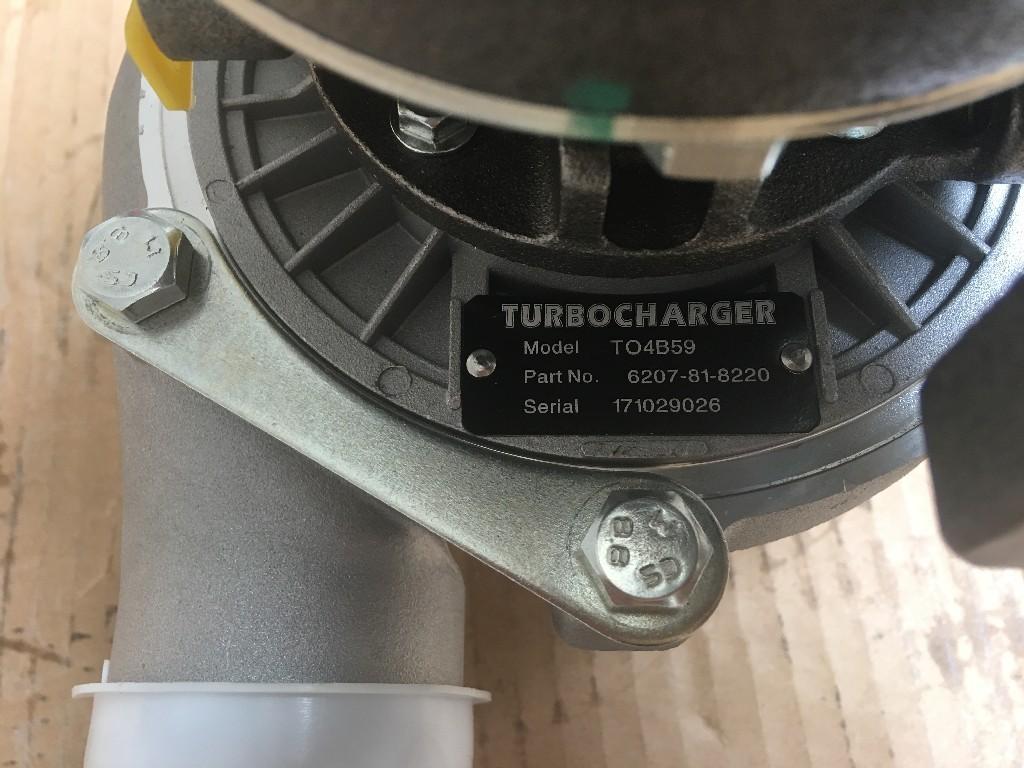 KOMATSU S6D95L-1 TURBOCHARGER TRUCK PARTS #698895
