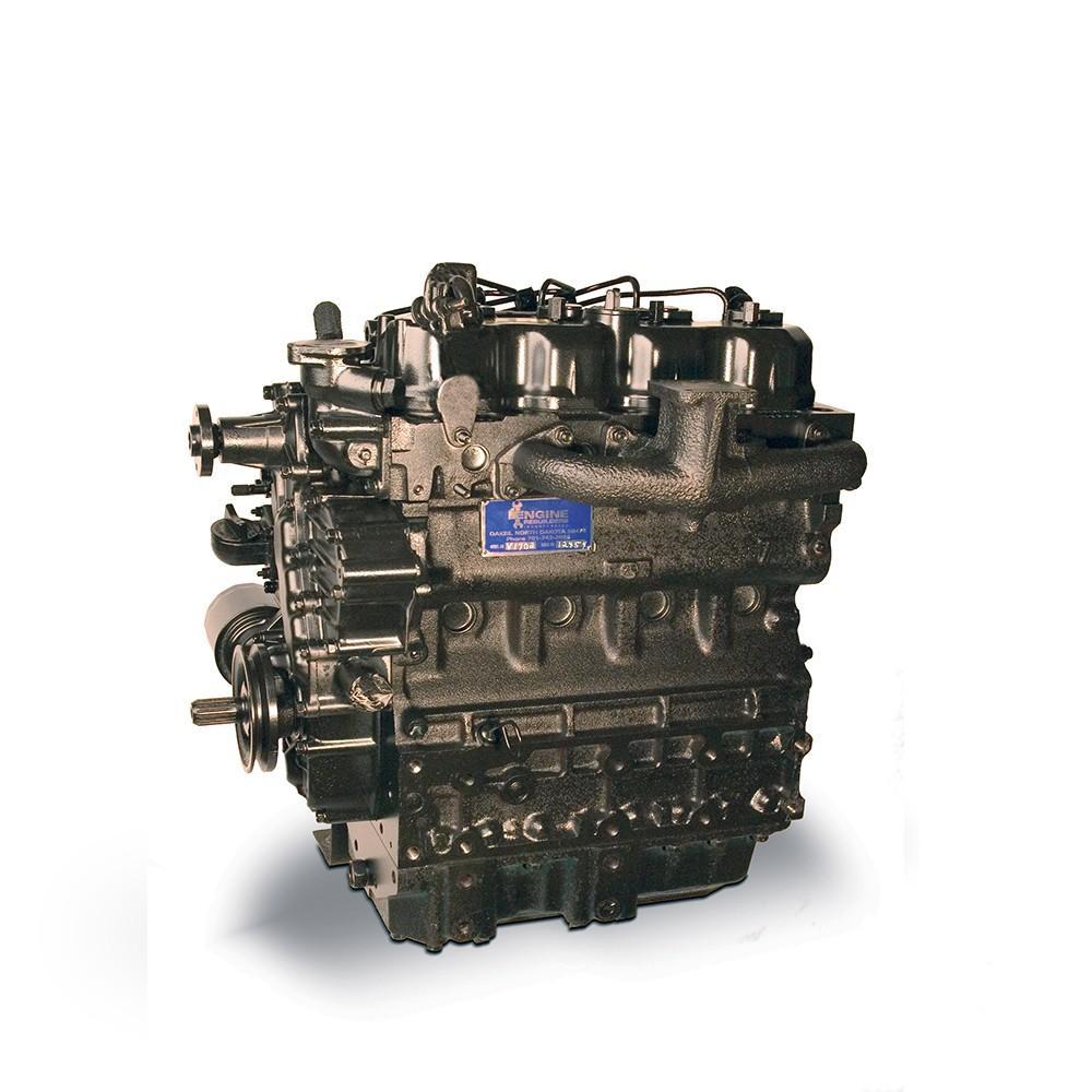 KUBOTA V2607 ENGINE ASSEMBLY TRUCK PARTS #708631