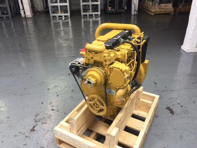 CATERPILLAR C4.4 ENGINE ASSEMBLY TRUCK PARTS #708400