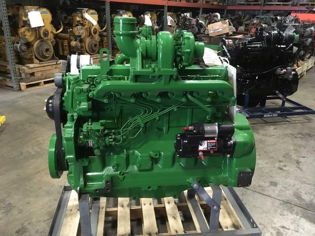 2017 JOHN DEERE 6068TF150 ENGINE ASSEMBLY TRUCK PARTS #698512