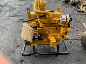 JOHN DEERE 4045TF250 ENGINE ASSEMBLY TRUCK PARTS #708392