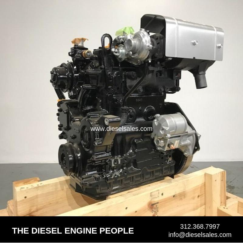 YANMAR 3TNV84HT-BR ENGINE ASSEMBLY TRUCK PARTS #725937