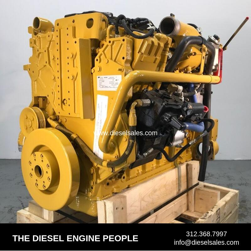 CATERPILLAR C-7 ENGINE ASSEMBLY TRUCK PARTS #570717