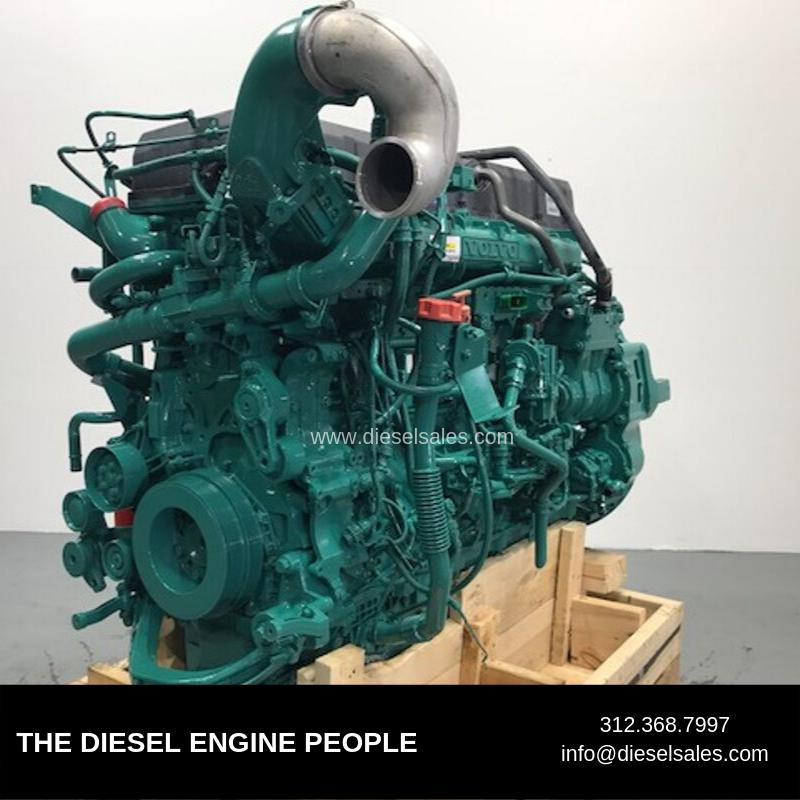2011 VOLVO D16 SCR ENGINE ASSEMBLY TRUCK PARTS #698607