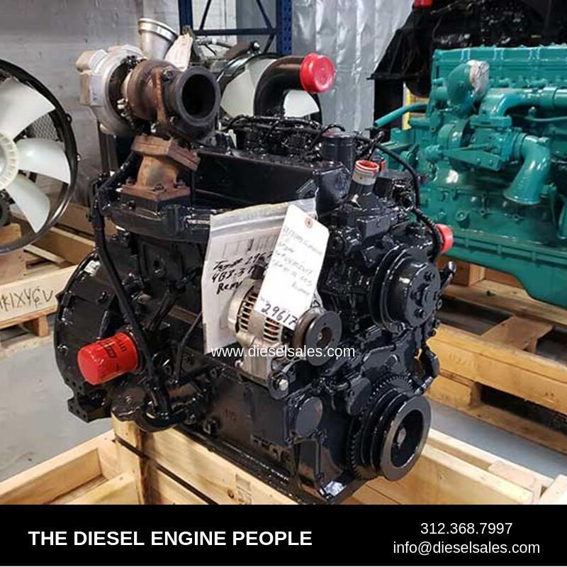 2008 CUMMINS QSB3.3T ENGINE ASSEMBLY TRUCK PARTS #609480