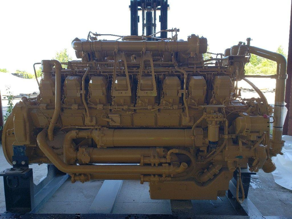 CATERPILLAR 3516 ENGINE ASSEMBLY TRUCK PARTS #743278