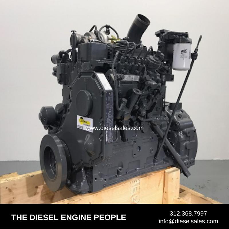 CUMMINS 4BT ENGINE ASSEMBLY TRUCK PARTS #708644