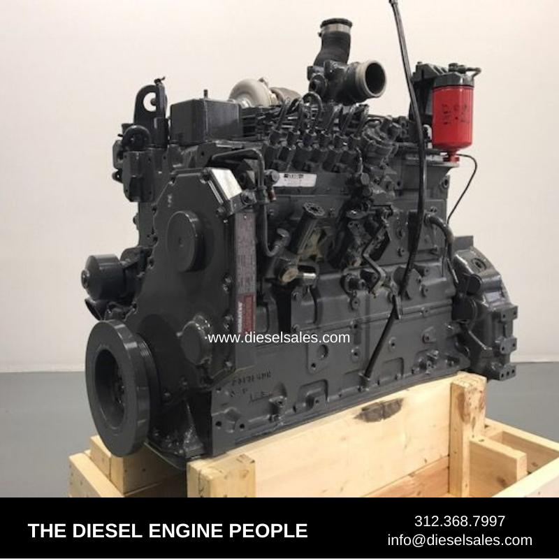 CUMMINS 6BT ENGINE ASSEMBLY TRUCK PARTS #708597