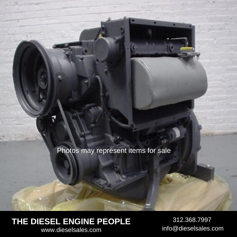 DEUTZ BF3L2011 ENGINE ASSEMBLY TRUCK PARTS #728279