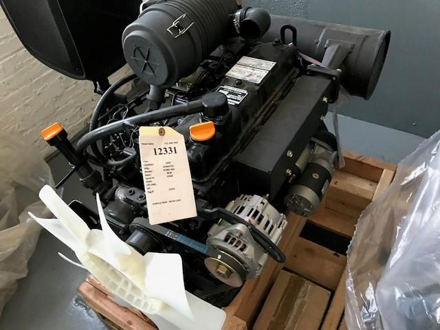 YANMAR S4D88E-3GD ENGINE ASSEMBLY TRUCK PARTS #485249