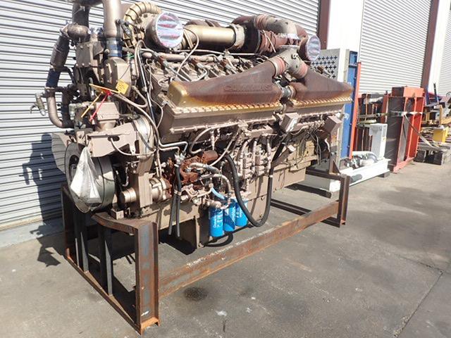 2011 CUMMINS QSK50 ENGINE ASSEMBLY TRUCK PARTS #755202