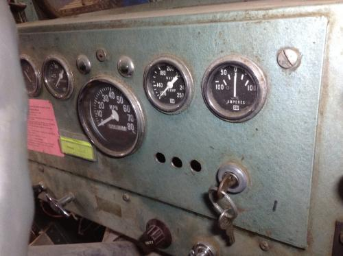 OSHKOSH OTHER Instrument Cluster
