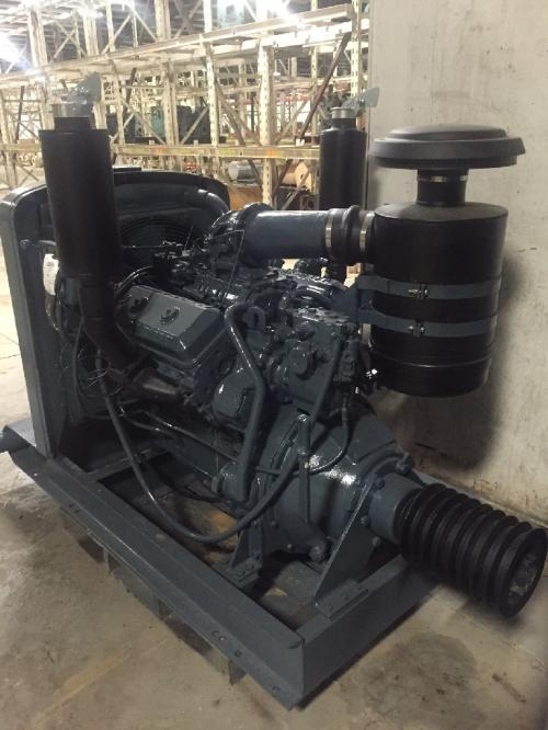 Detroit 6V71N Engine Assembly