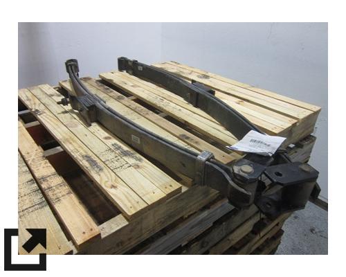 CHEVROLET W3500 LEAF SPRING, FRONT