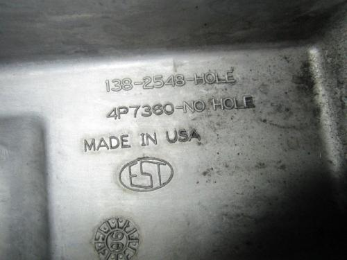 CAT 3176B Oil Pan