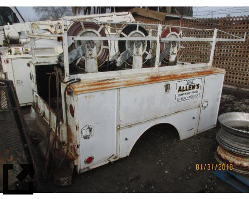 UTILITY/SERVICE BED F350 SERIES TRUCK BODIES,  BOX VAN/FLATBED/UTILITY