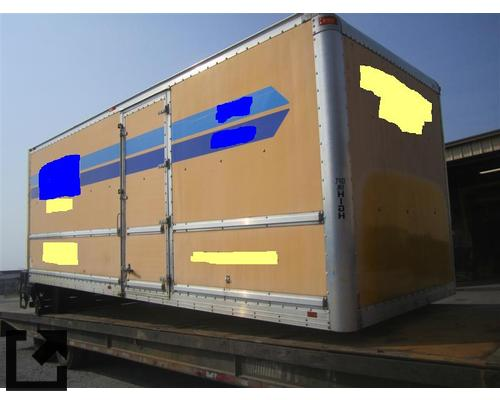 BOX VAN 4300 TRUCK BODIES,  BOX VAN/FLATBED/UTILITY