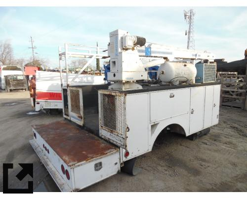 UTILITY/SERVICE BED C7000 TRUCK BODIES,  BOX VAN/FLATBED/UTILITY