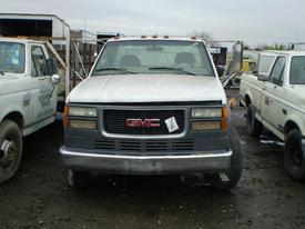 GMC 3500 Bumper Assembly, Front