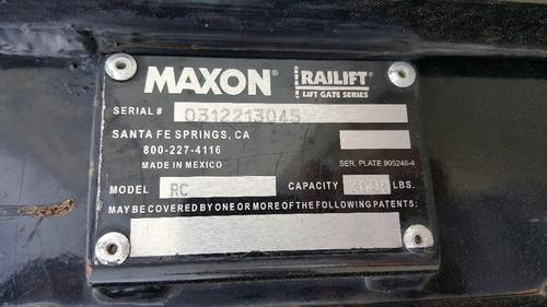 MAXXON  Equipment (Mounted)