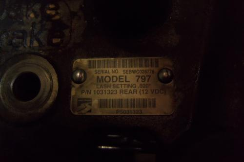DETROIT 60 SER 12.7 Jake/Engine Brake